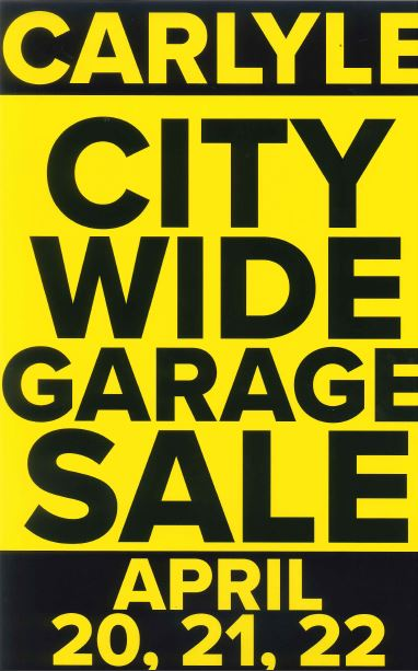 2017 Spring City Wide Garage Sales Flyer