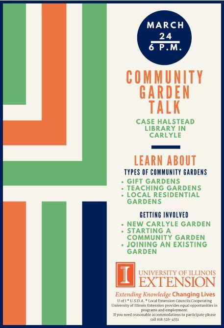 2017 Community Garden Talk
