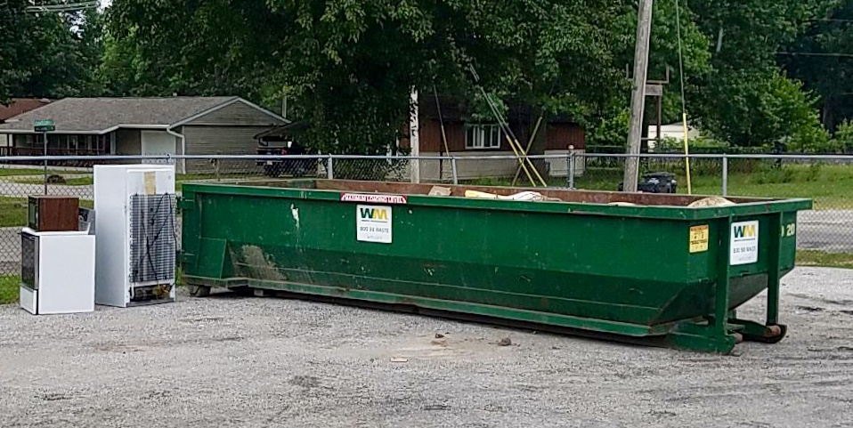 City Residents ONLY Dumpster