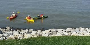 Kayaking at Carlyle