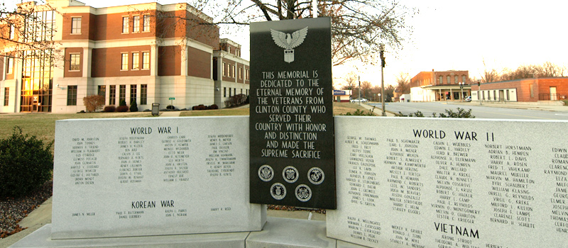 Courthouse Veterans Memorial