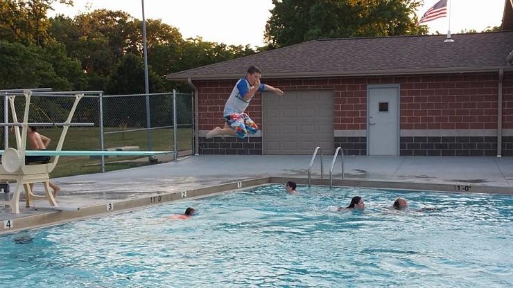 Diving Board Jump